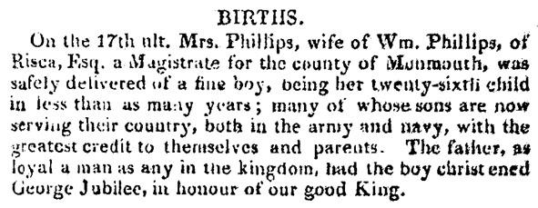 Phillips Births